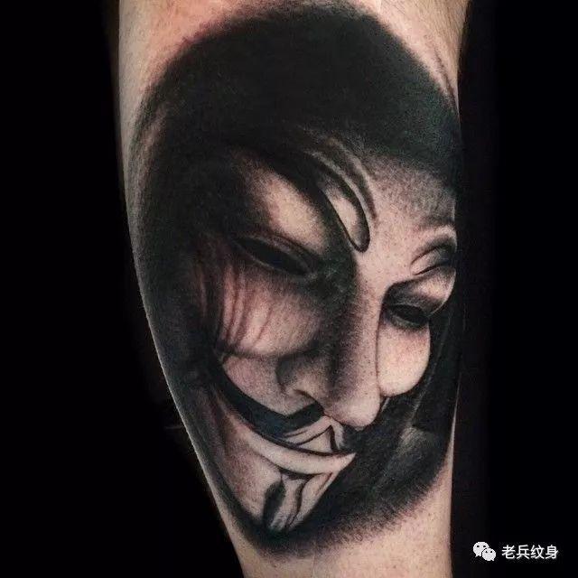面具纹身图案 10组十分奇特怪异的面具纹身图案... - 纹身帮图库