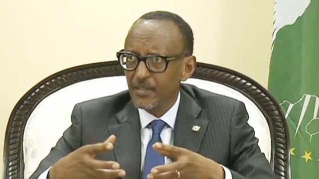 卢旺达连任总统卡加梅宣誓就职
