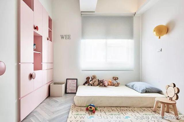 卧室不放床?直接将地面抬高20公分做地台床,这样设计真机智