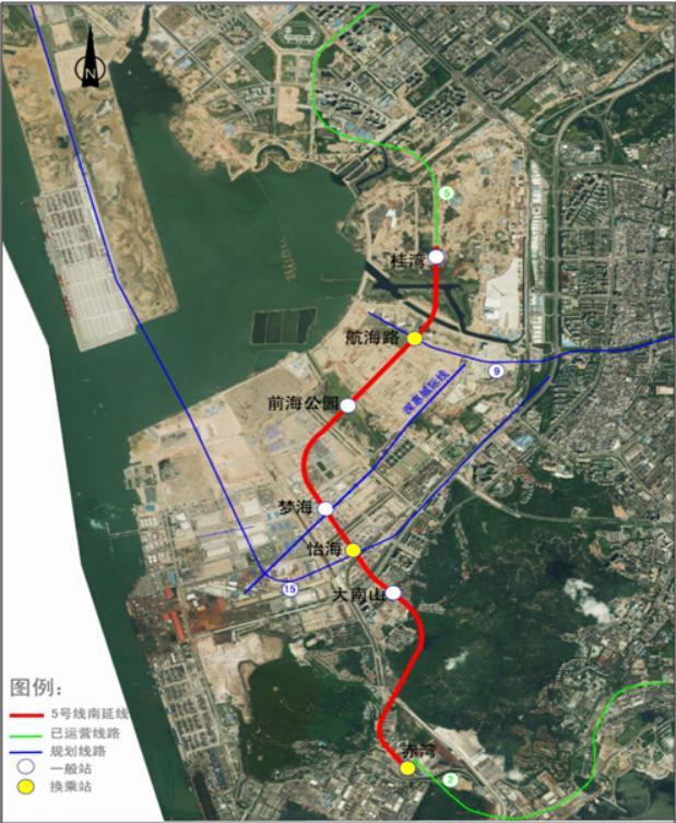 深圳地铁5号线(环中线)线路图_深圳地铁... - 穷游旅行工具移动版