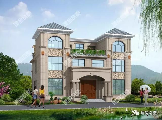 精选20款双拼别墅效果图,或简约或豪华,兄弟建房的最佳选择
