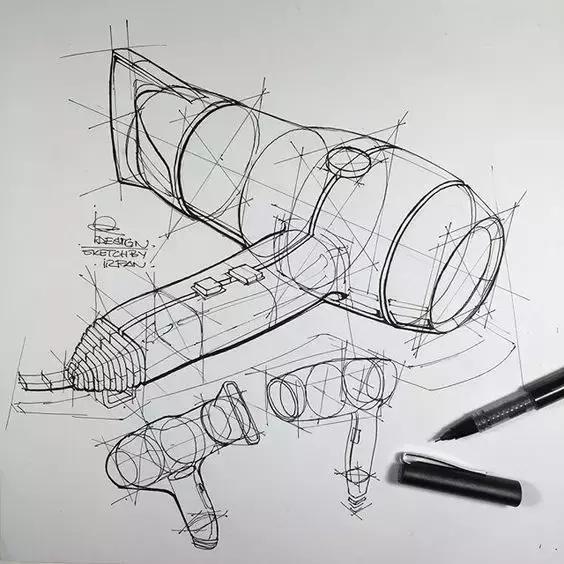 产品结构素描