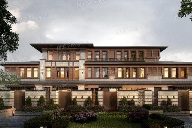 效果图赏析——320平米叠拼别墅简欧风格装修设计案例效果图