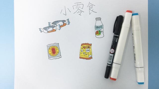 简笔画可爱的甜点合集,超多甜品简笔画步骤噢!
