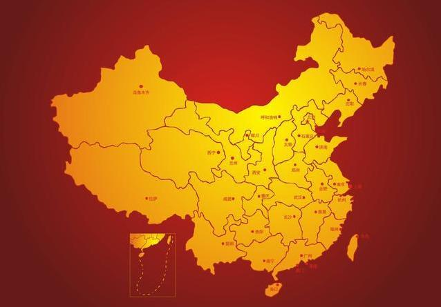 各国历史教科书中的古代中国版图