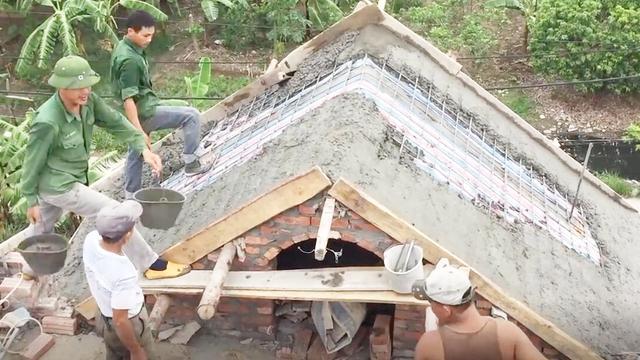 现浇混凝土坡屋面施工方案