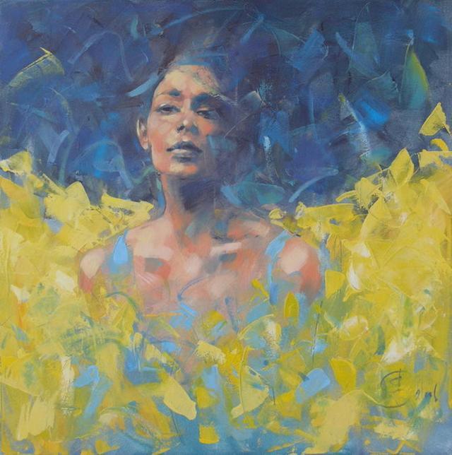 (波兰)他笔下的油画花卉、风景,美得不要不要
