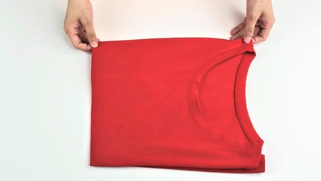 夏天衣服这么叠,衣柜能多放几十件衣服,整洁又美观,太实用了