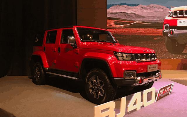 北汽新品SUV强悍登场,颜值与气质并存,硬汉形象深入人心!