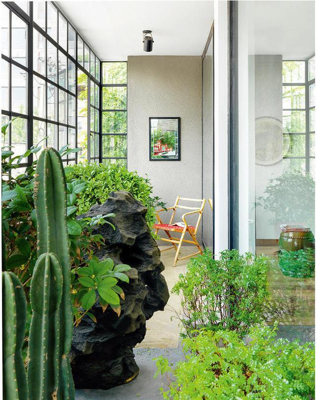 入户花园应该怎样设计,室内入户花园装修效果图赏析.