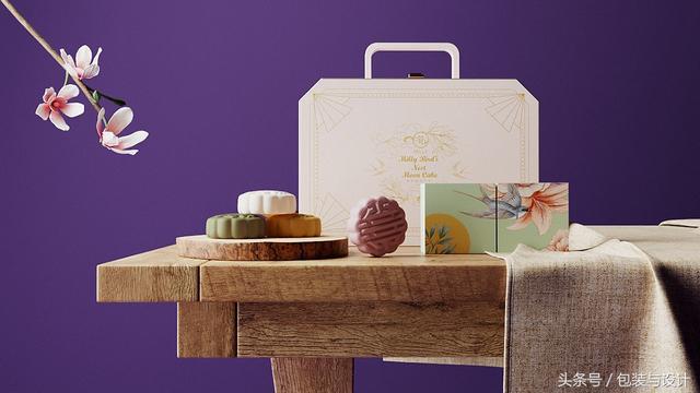经典月饼包装设计