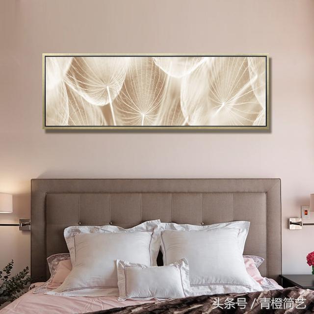卧室里的床头画你挂对了吗