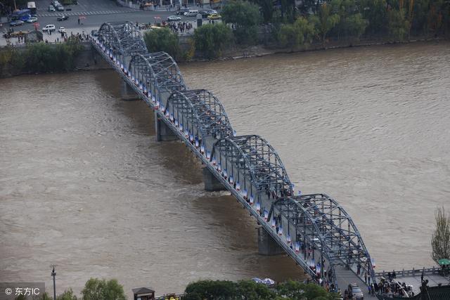 兰州中山桥简笔画少儿