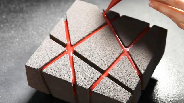 強迫癥福音超治愈的3D模型打印蛋糕