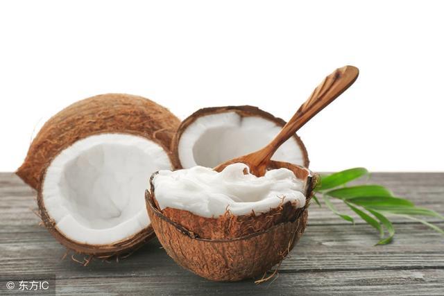 椰子油护发后