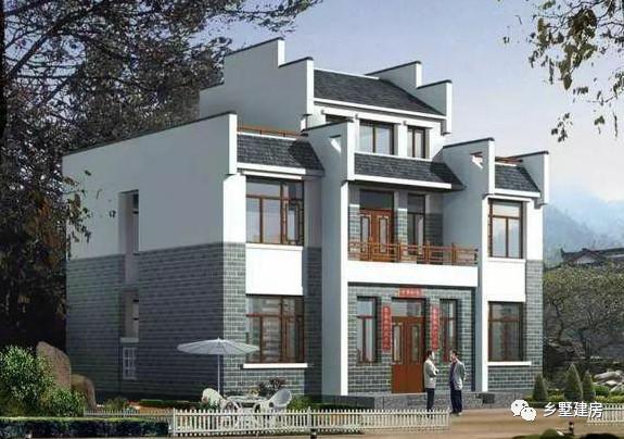 六款新中式别墅,永不过时的传统风格,在农村建房不考虑一下吗?