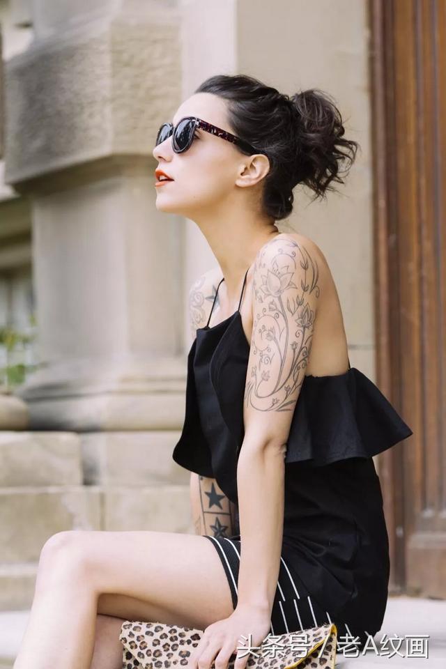 日本女性高级感的纹身