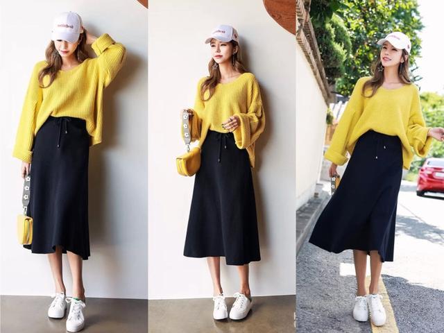 2019年流行什么半身裙