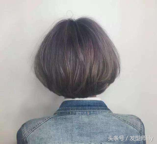 圆头发型图片男