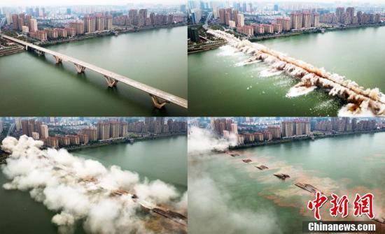 吉安赣江大桥重建项目主体工程10月开工 预计2021年11月底前通车