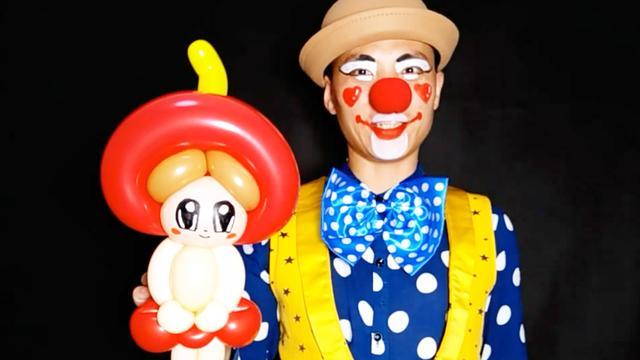 魔术气球气球玩偶大嘴猴的详细制作步骤图-编织乐论坛