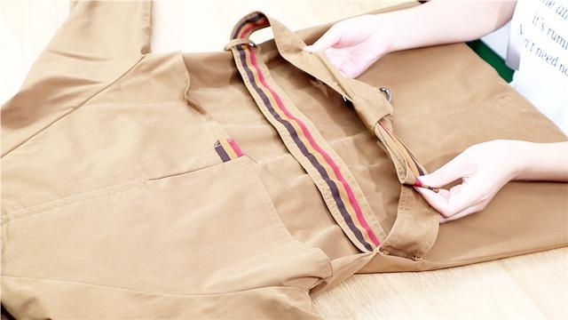 风衣腰带的3种系法,简单易学美丽大方!看完涨姿势了