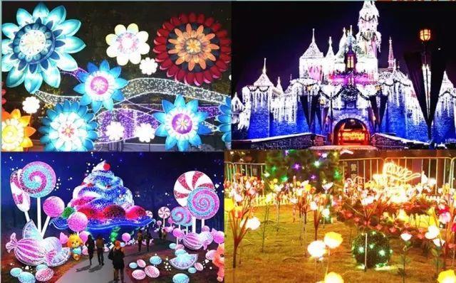 2019长沙国际灯光装置艺术节开幕
