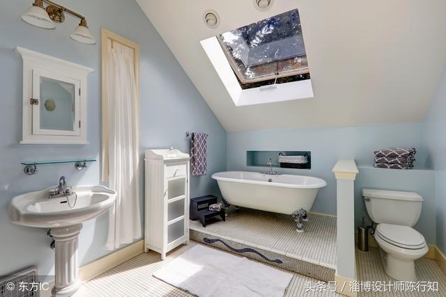 带浴缸的卫生间:干湿分离真的太舒服了,装修不后悔系列