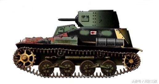 抗战期间日军的小豆坦克有多小?八路军缴获后,因太... _东方新闻