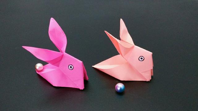 2分钟学会折纸小兔子收纳盒,会的人却不多,简单漂亮手工视频