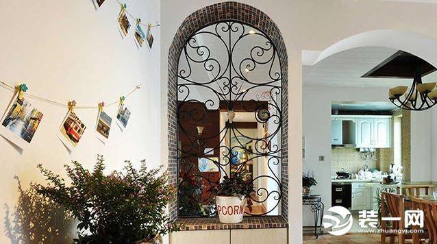 客厅玄关隔断效果图,让客厅更私密,让室内布局更合理!