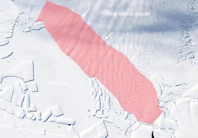 南极冰山已出现特大裂缝,证明一个可怕事实,美将... _东方头条