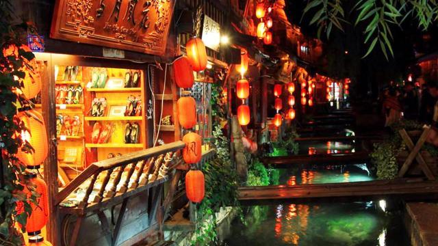 丽江古城酒吧街