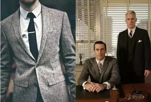 男士西装穿搭法则