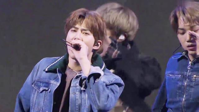 EXO《Ko Ko Bop》最新现场公开,出场后粉丝沦陷了