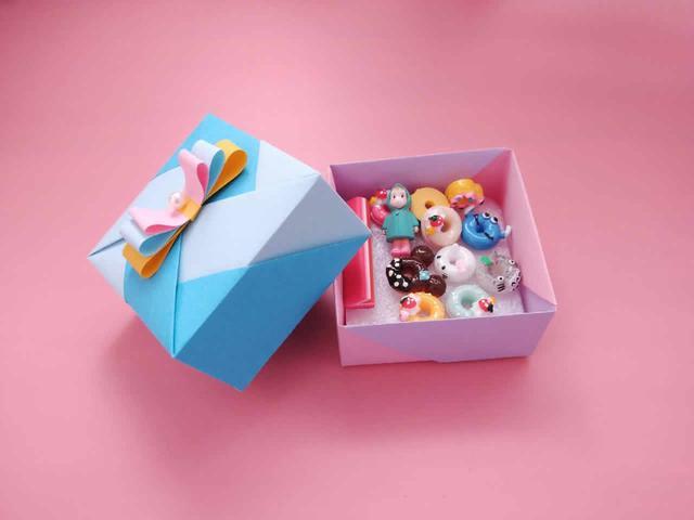 一二年级折盒子简单