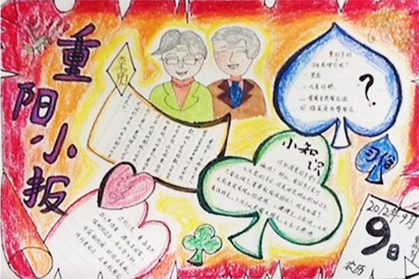 小學生北京胡同手抄報