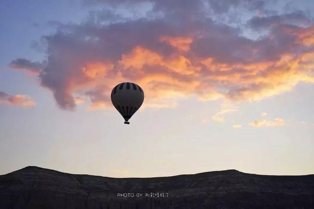 土耳其热气球图片唯美