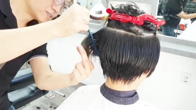 女士中年发型 年轻漂亮的中短发烫发【图】_发... _太平洋时尚网