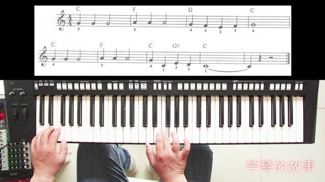 电子琴指法详谈