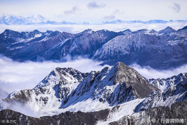 来黑水-达古冰川,感受海拔4860米长冬无夏,海拔最低最年轻冰川