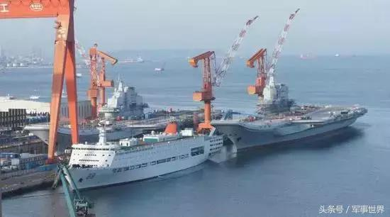 中国双航母再次亮相,舰岛甲板整修一新,或同时出海测试