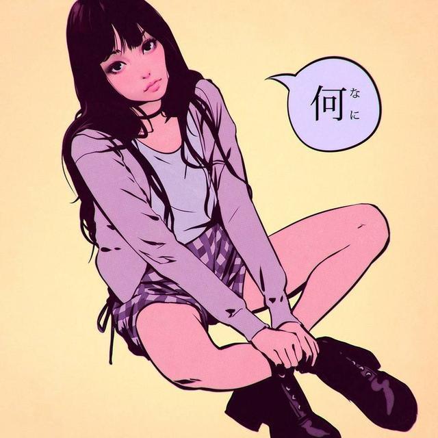「女生插画头像」这种风格的你喜欢吗魔方甜点壁纸