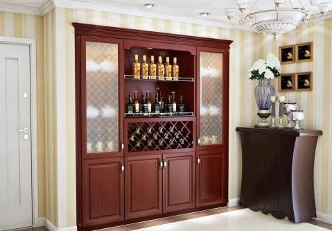 酒柜尺寸一般是多少 最常用的家庭酒柜尺寸推... - 土巴兔装修网