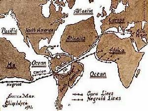 世界上最神秘神奇的古代传说-姆大陆