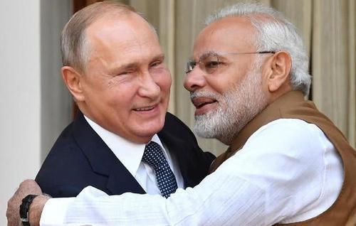 """莫迪终于等来帮手了?关键时刻,普京给印度送上了一份""""大礼"""""""