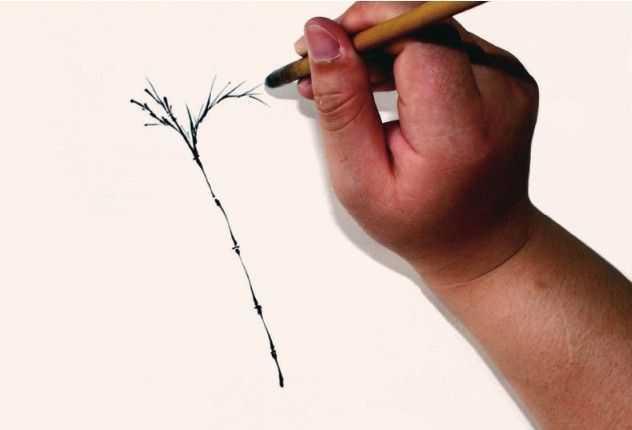 不会画竹子?老师教你3种常见竹子画法,学会画竹子很简单,收藏