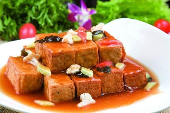 砂锅黄焖豆腐