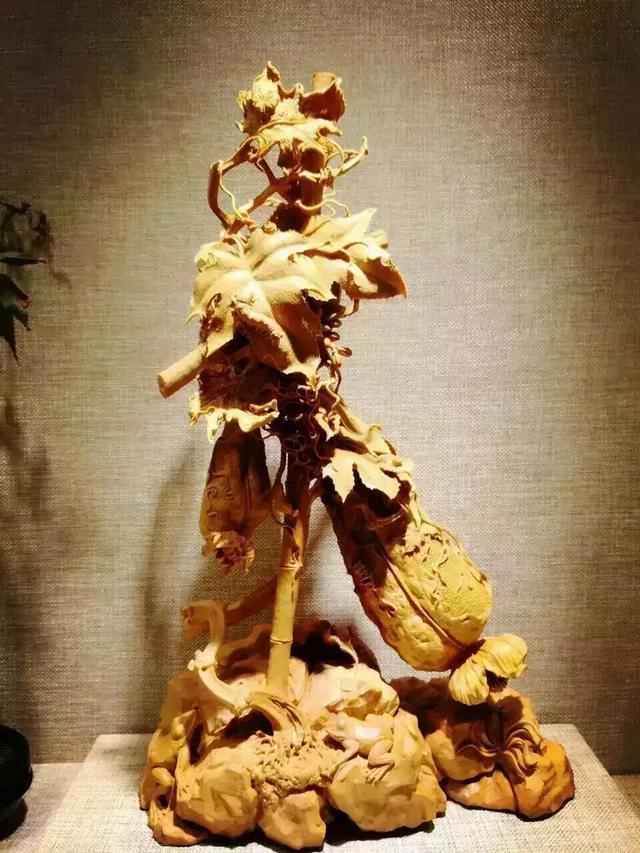 可陈设把玩的黄杨木雕,当下更适合收藏投资!