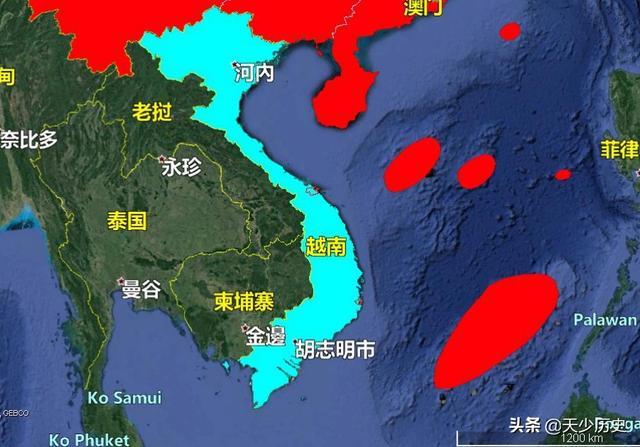 越南这两个军港地理条件真好,扼守我国南海,对我国影响大吗?